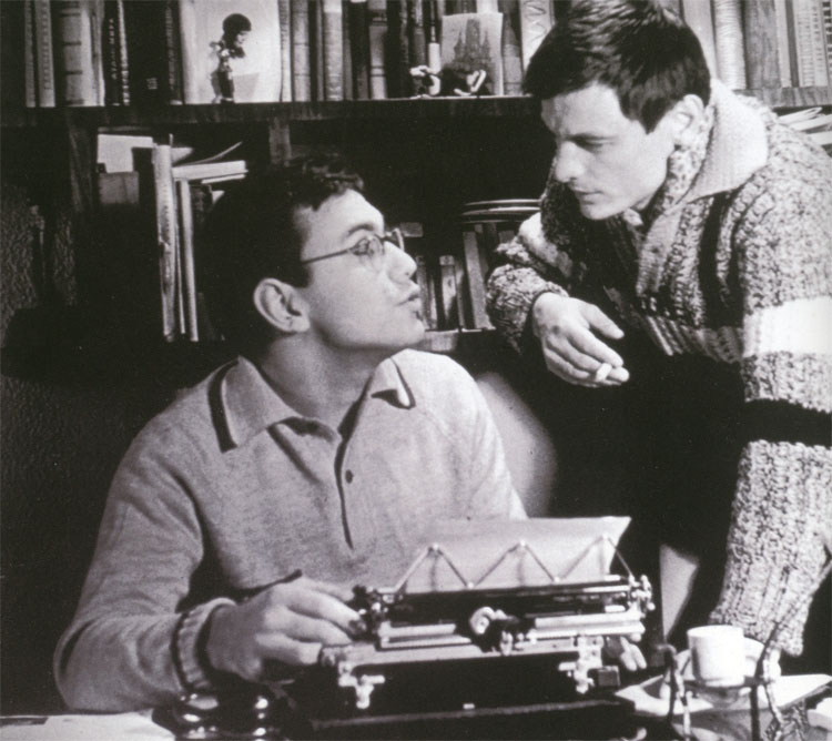 Андрей Кончаловский и Андрей Тарковский