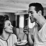 Пол Ньюман и Джоан Вудворд