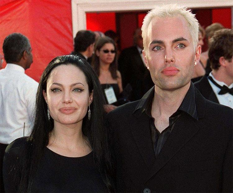 Анджелина Джоли и ее брат